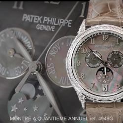MyWatchTV – PATEK PHILIPPE Montre à Quantième Annuel Ref. 4948G