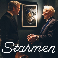 Starmen with George Clooney and Buzz Aldrin
