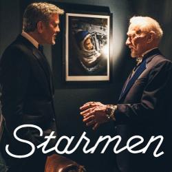 Starmen avec George Clooney et Buzz Aldrin